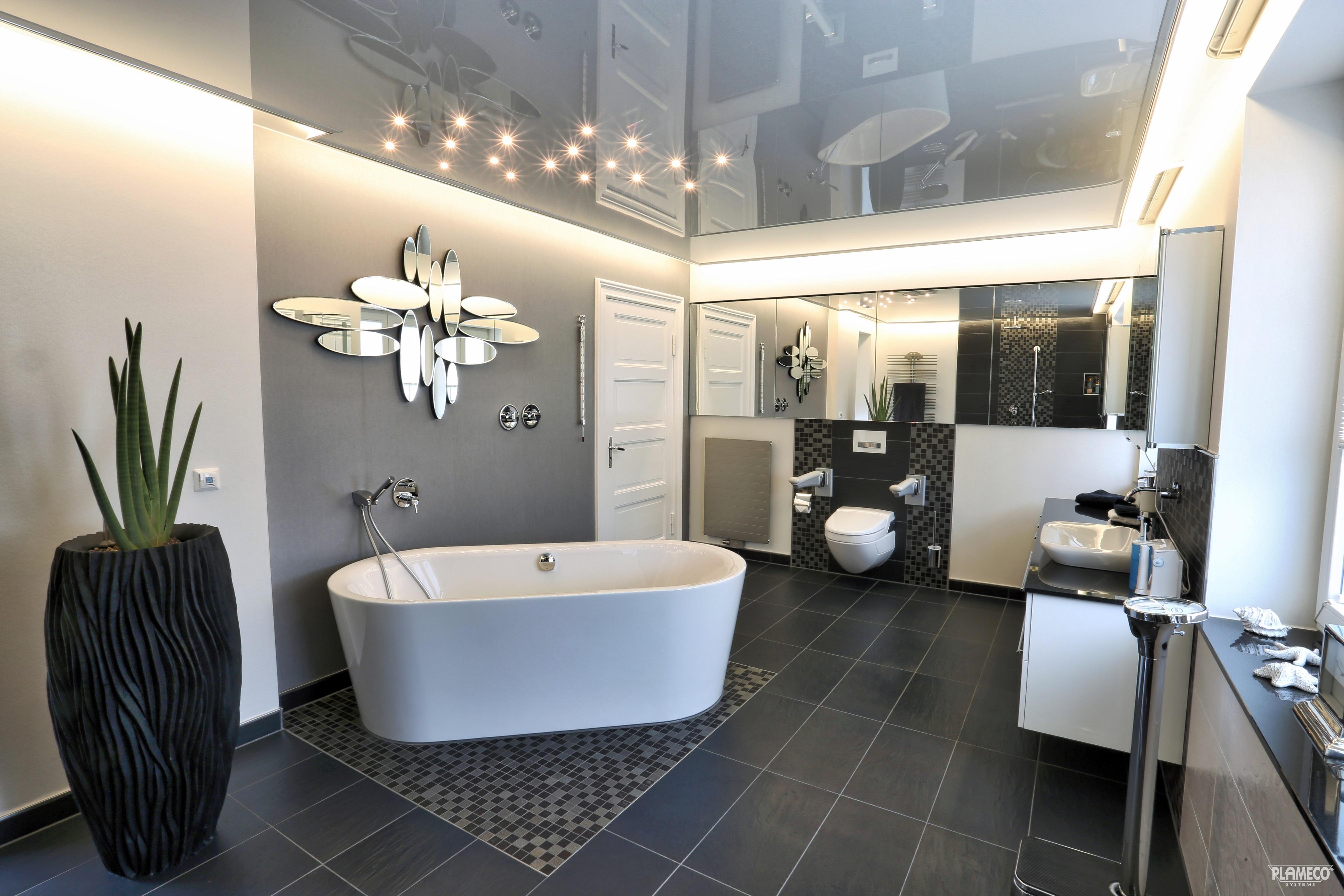 wie wichtig ist eine spanndecke im badezimmer plameco beckmann. Black Bedroom Furniture Sets. Home Design Ideas